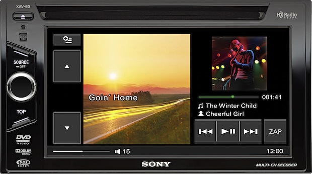 Sony XAV-60 Head Unit