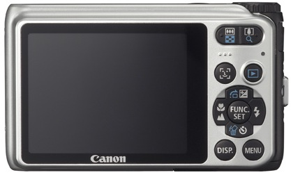 Canon PowerShot A3100 IS Digital Camera - Back