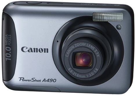 Canon PowerShot A490 Digital Camera