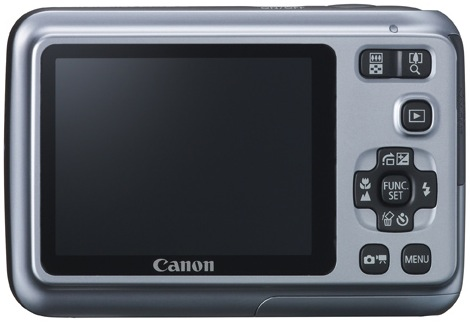 Canon PowerShot A490 Digital Camera - Back