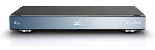 LG BD590 Network Blu-ray Disc Player with Hard Drive - Front