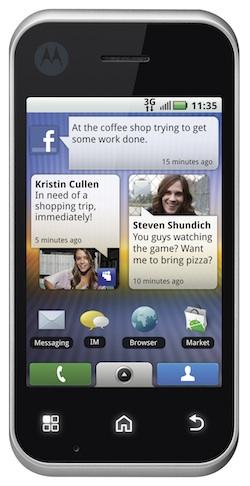 Motorola BACKFLIP with MOTOBLUR Smartphone