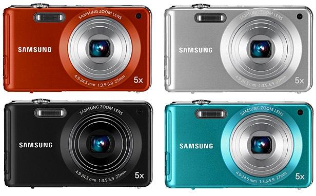 Samsung TL110 Digital Camera - Colors