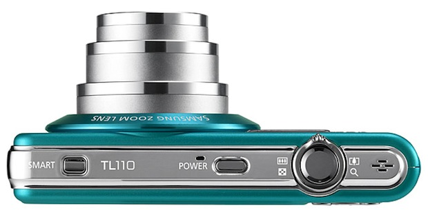 Samsung TL110 Digital Camera - Top