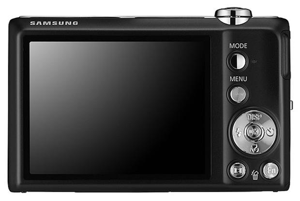 Samsung TL105 Digital Camera - Back