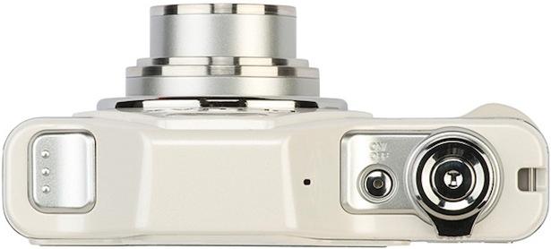 Pentax Optio I-10 Digital Camera - Top