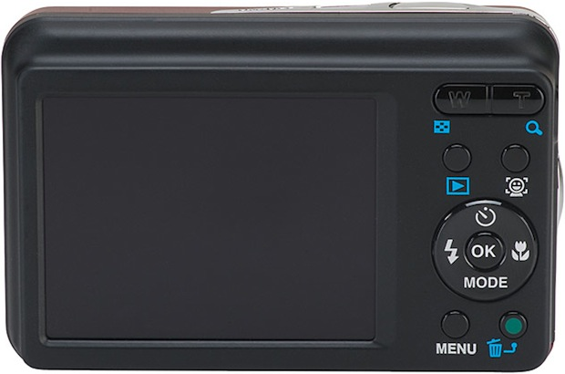 Pentax Optio E90 Digital Camera - Back