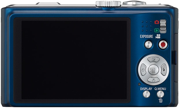 Panasonic DMC-ZS7 LUMIX Digital Camera - Back