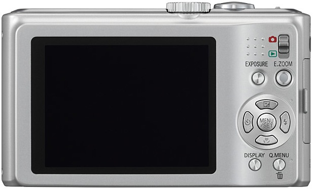 Panasonic DMC-ZS5 LUMIX Digital Camera - Back