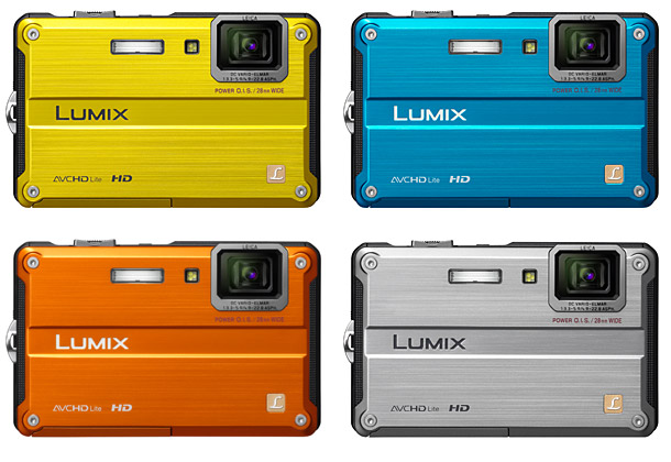 Panasonic DMC-TS2 LUMIX Digital Camera - Colors