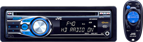 JVC KD-HDR40 CD Receiver