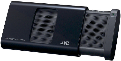 JVC SP-A130 Portable Speakers - Black