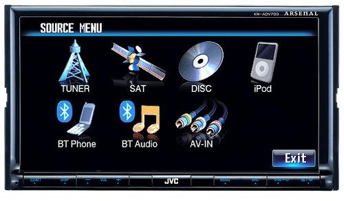 JVC KW-AVX793