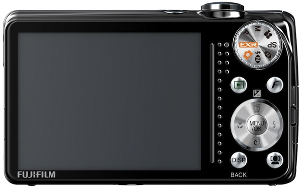 FujiFilm FinePix F80EXR Digital Camera - Back