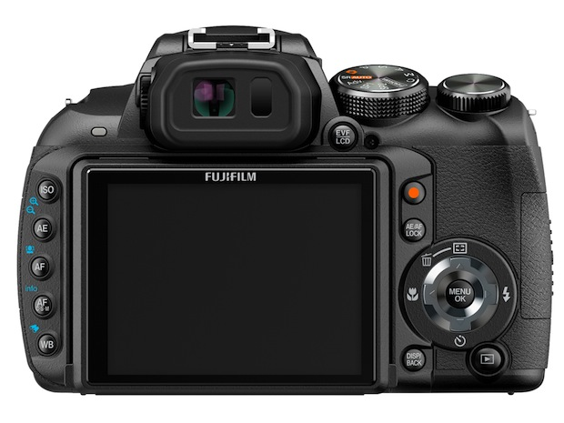 FujiFilm FinePix HS10 Digital Camera - Back