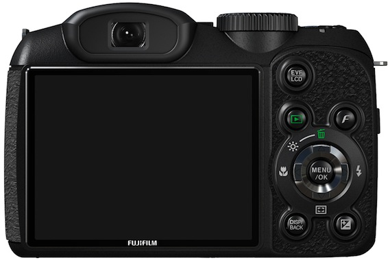 FujiFilm FinePix S2550HD Digital Camera - Back
