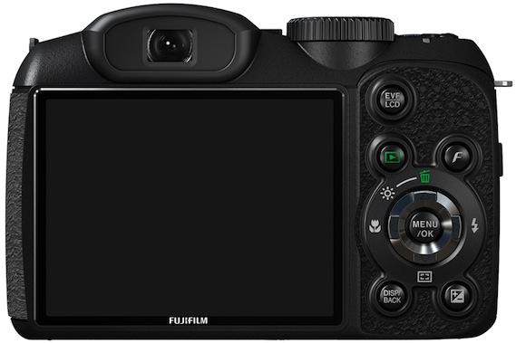 FujiFilm FinePix S2550HD Digital Camera - Back