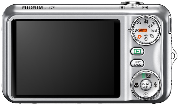 FujiFilm FinePix JZ300 Digital Camera - Back