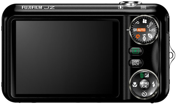 FujiFilm FinePix JZ500 Digital Camera - Back