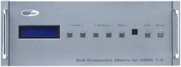 Gefen 8x8 Cross Point Matrix for HDMI v1.3 - Front