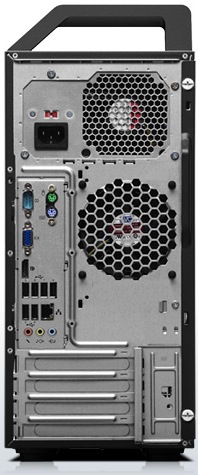 Lenovo ThinkStation E20 Workstation - Back