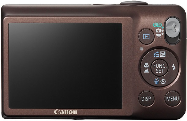 Canon PowerShot SD1300 IS Digital ELPH Camera - Back