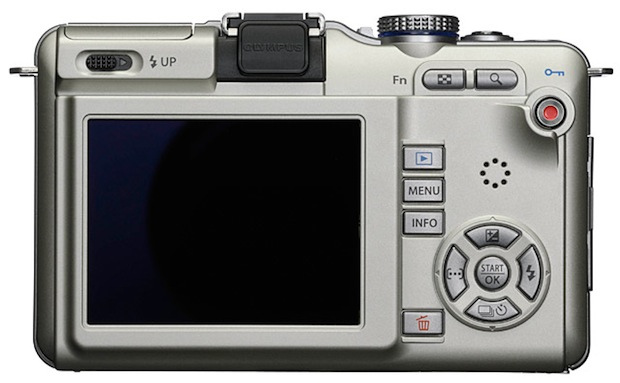 Olympus PEN E-PL1 Micro Four Thirds Digital Camera - Back