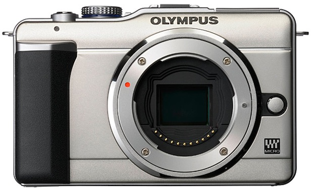 Olympus PEN E-PL1 Micro Four Thirds Digital Camera - Front