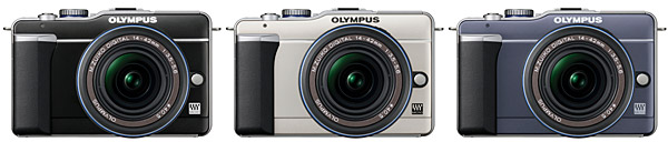 Olympus PEN E-PL1 Micro Four Thirds Digital Camera - Colors