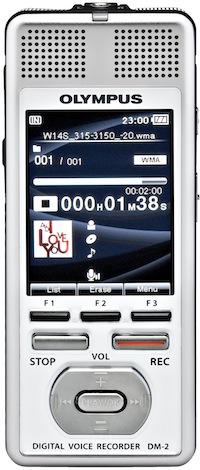 Olympus DM-2 Digital Audio Recorder
