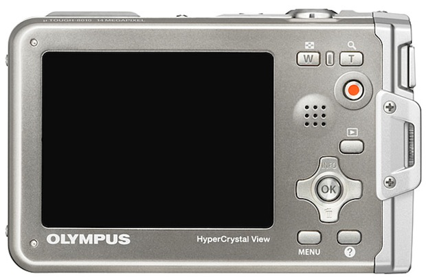 Olympus Stylus TOUGH-8010 Digital Camera - back
