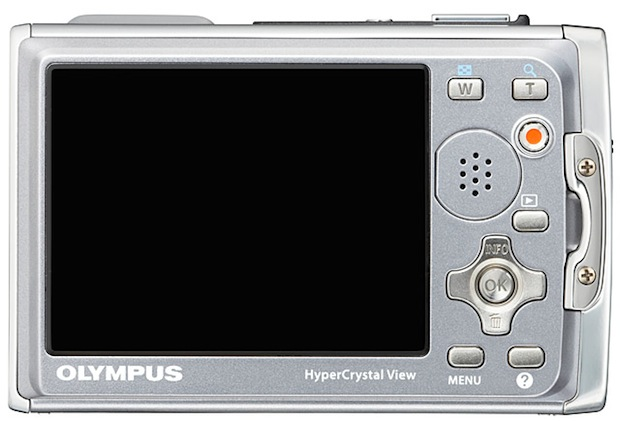Olympus Stylus TOUGH-6020 Digital Camera - back