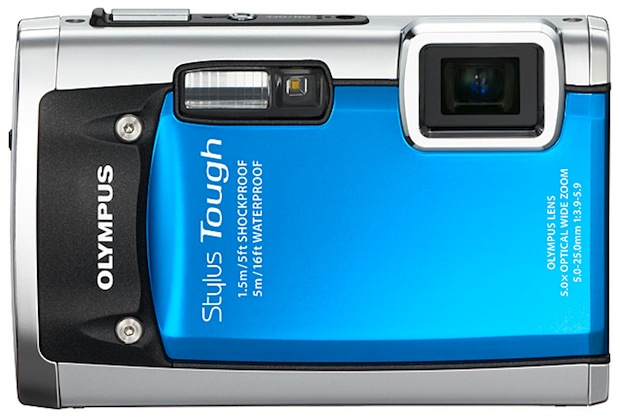 Olympus Stylus TOUGH-6020 Digital Camera - front