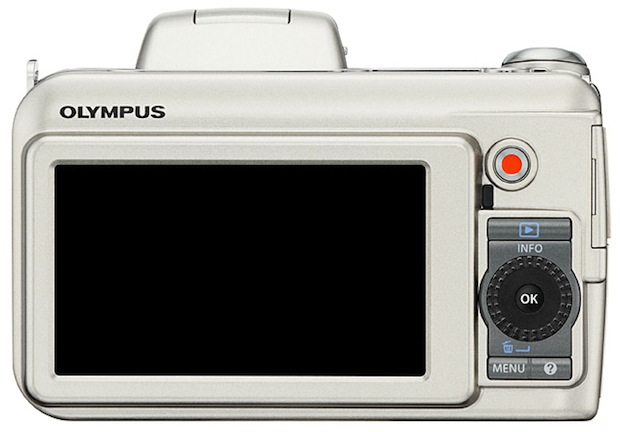 Olympus SP-800UZ Digital Camera - back
