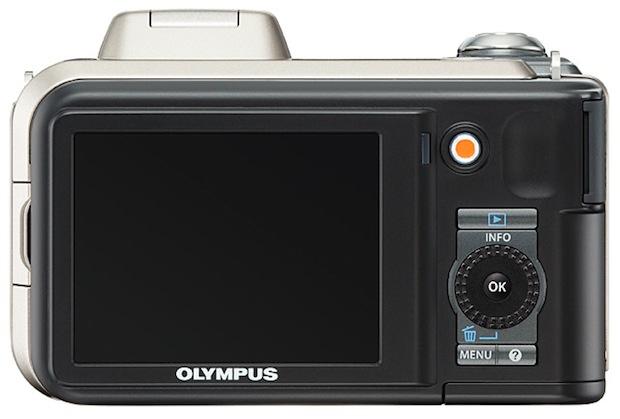 Olympus SP-600UZ Digital Camera - back