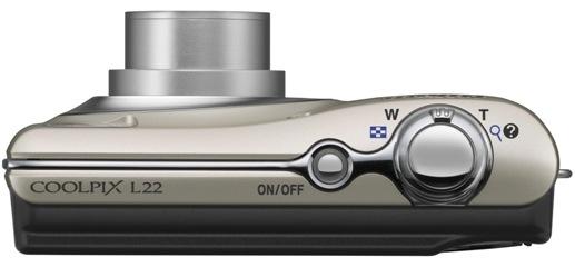 Nikon Coolpix L22 Digital Camera - top