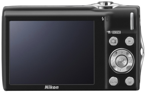 Nikon Coolpix S3000 Digital Camera - back