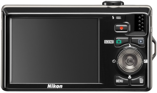 Nikon Coolpix S6000 Digital Camera - back