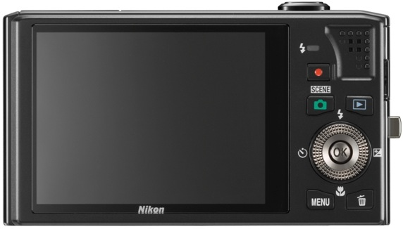 Nikon Coolpix S8000 Digital Camera - back