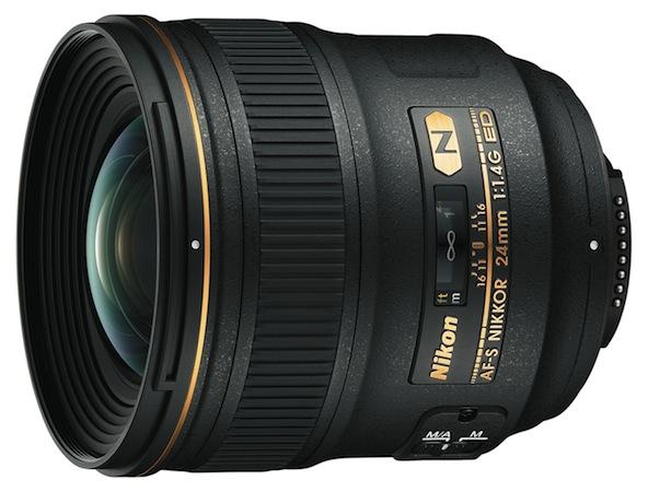 Nikon AF-S NIKKOR 24mm f/1.4 G ED lens