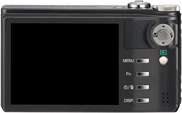 Ricoh CX3 Digital Camera - back