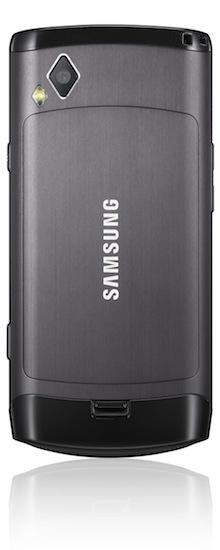 Samsung Wave S8500 Smartphone - back