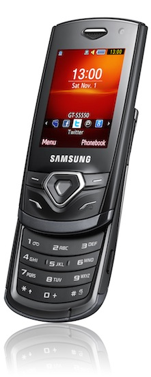 Samsung Shark AMOLED S5550 Cell Phone