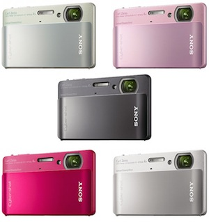 Sony DSC-TX5 Cyber-shot Waterproof Digital Camera - Colors