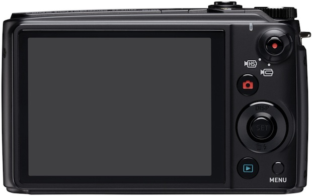 Casio EX-FH100 Exilim Digital Camera - Back