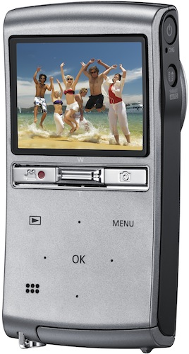 Samsung HMX-U20 Pocket HD Camcorder - Back