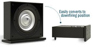 Leon Speakers Aaros A10-UT Subwoofer to Downfire