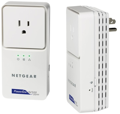 NETGEAR Powerline AV+ 500 Adapter Kit - XAVB5501