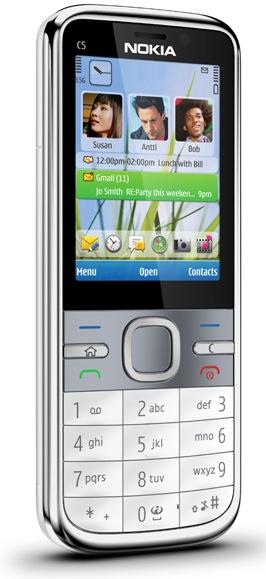 Nokia C5 Smartphone - White