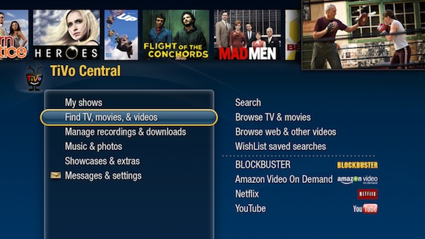 Tivo Central Screenshot